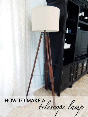 How to Make a Telescope Lamp