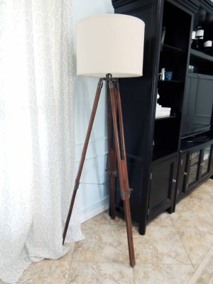 DO or DIY | How to Create a Tripod Floor Lamp